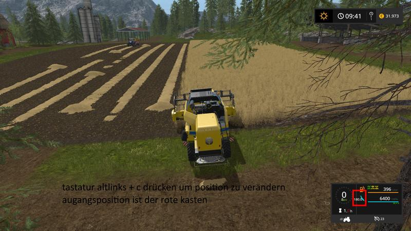 Мод компас FS17 COMPASS V2.0.0 Farming Simulator 17
