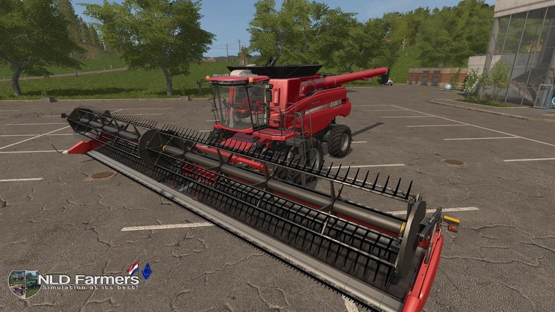 Мод комбайн FS17 Case IH230 Axial Flow 9230 Combine Pack. V 1.2 Farming Simulator 17