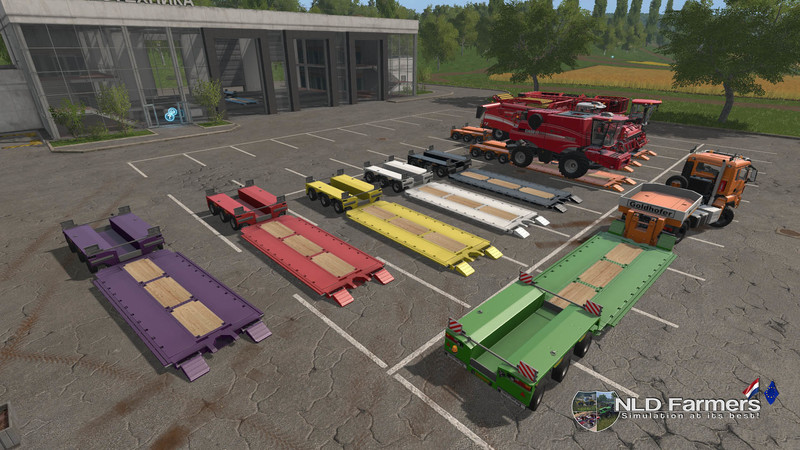 Мод трал FS17 Goldhofer Buyable Color V 1.0 Farming Simulator 17