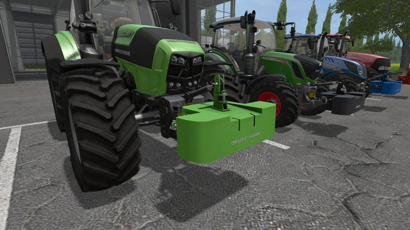 Мод противовесы FS17 Greve Weight FS17 V 1.0.0.0 Farming Simulator 17
