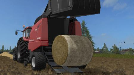 Мод тюкопресс FS17 KUHN VB 2190 Farming Simulator 17