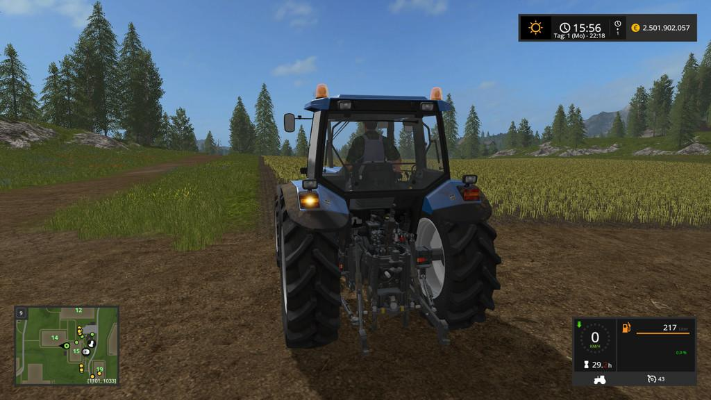 Мод AUTO TURN OFF TURN LIGHTS Farming Simulator 17
