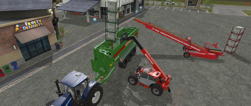 Мод BERGMANN GTW 430 all loaded v 1.2 Farming Simulator 17