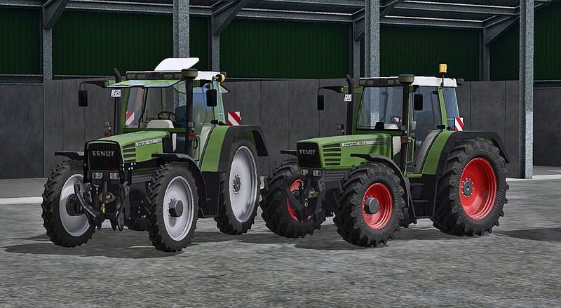 Мод трактор Fendt Favorit 512 C v 1.0 Farming Simulator 17