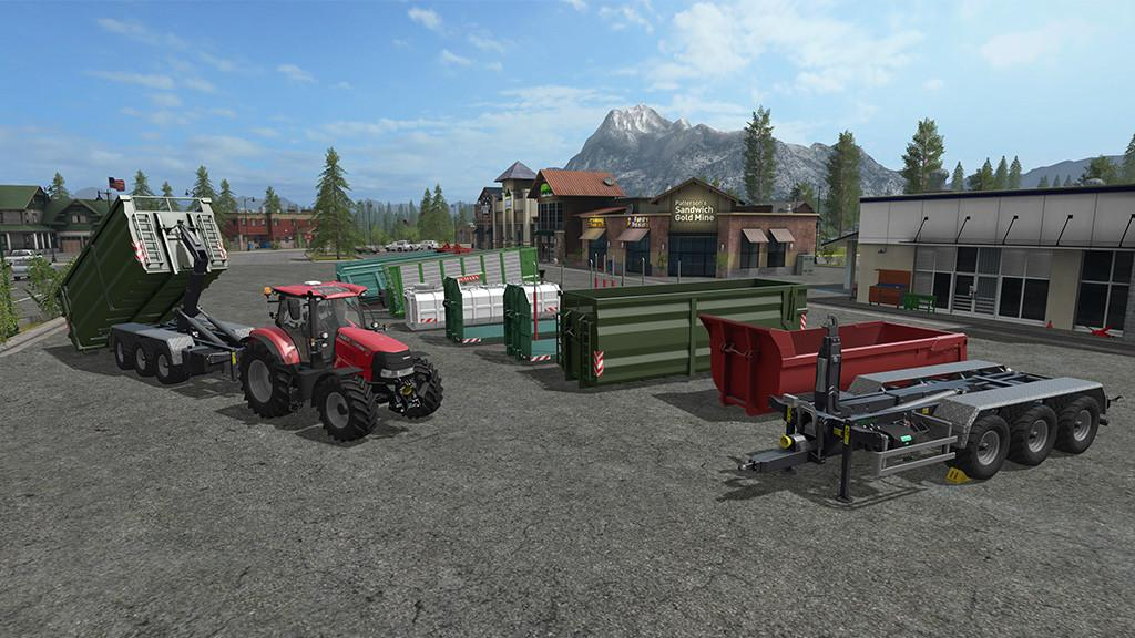 Мод ПАК ITRunner Pack V1.0.0.3 Farming Simulator 17