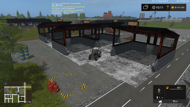 Мод Stockage Placeable v 1.2 Farming Simulator 2017