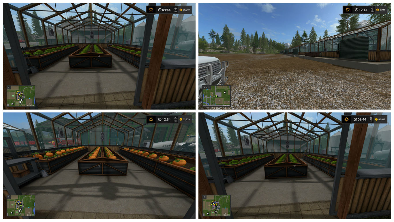 Мод Placeable Greenhouses by Stevie v 1.0.0.1 Farming Simulator 17