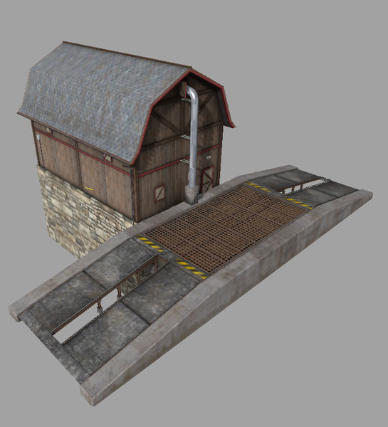 Мод Placeable grain storage v 1.1.0.0 Farming Simulator 2017