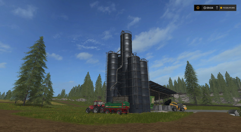 Мод Silage Silo UPK v 0.5 Placeable Farming Simulator 2017