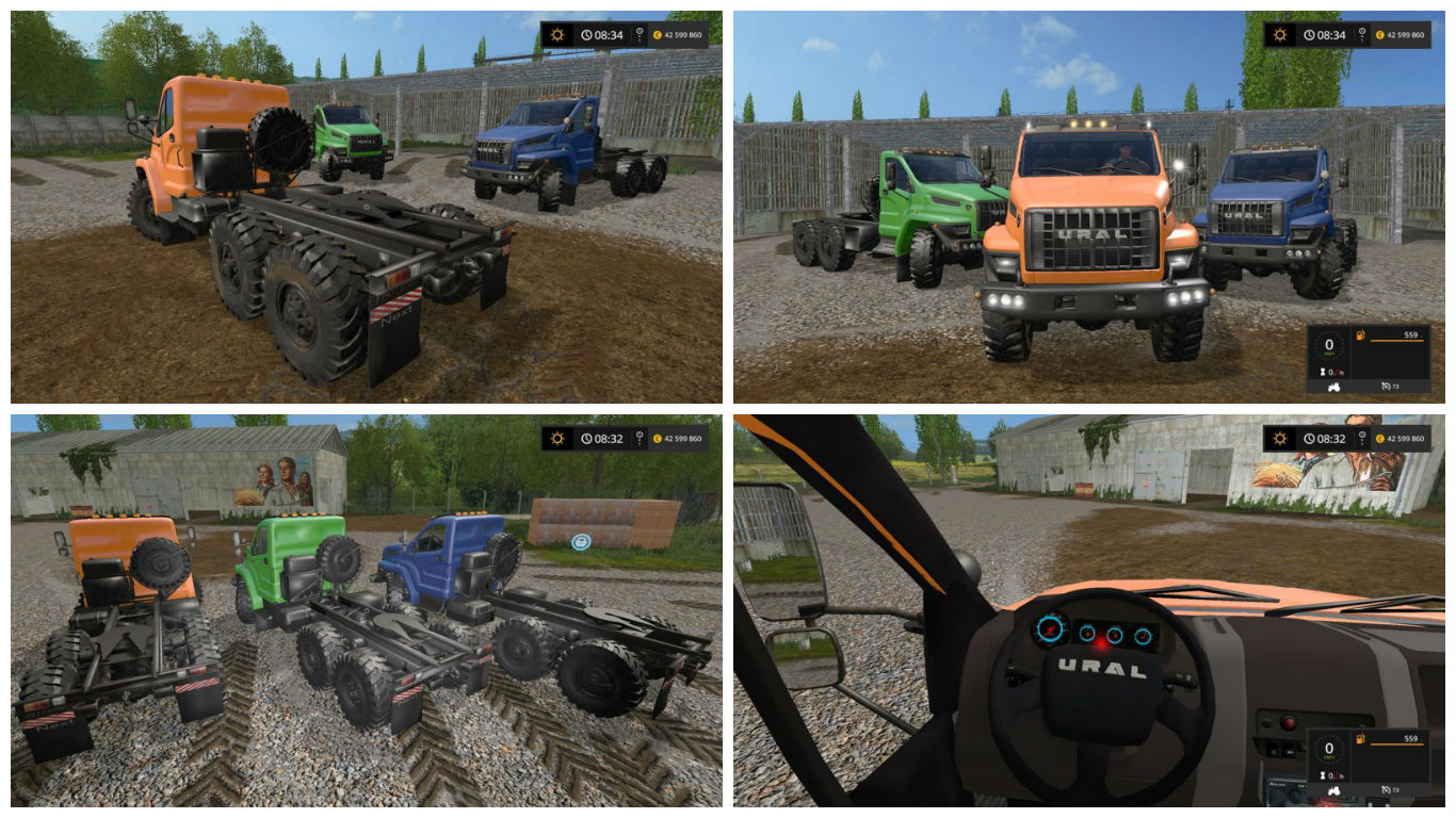 Мод Урал URAL NEXT Farming Simulator 2017