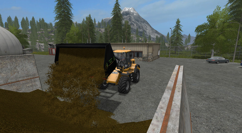 Мод ковш Universal Leichtgutschaufel Wheel loaders/ Telescopic loaders XXL 1.0 Farming Simulator 17