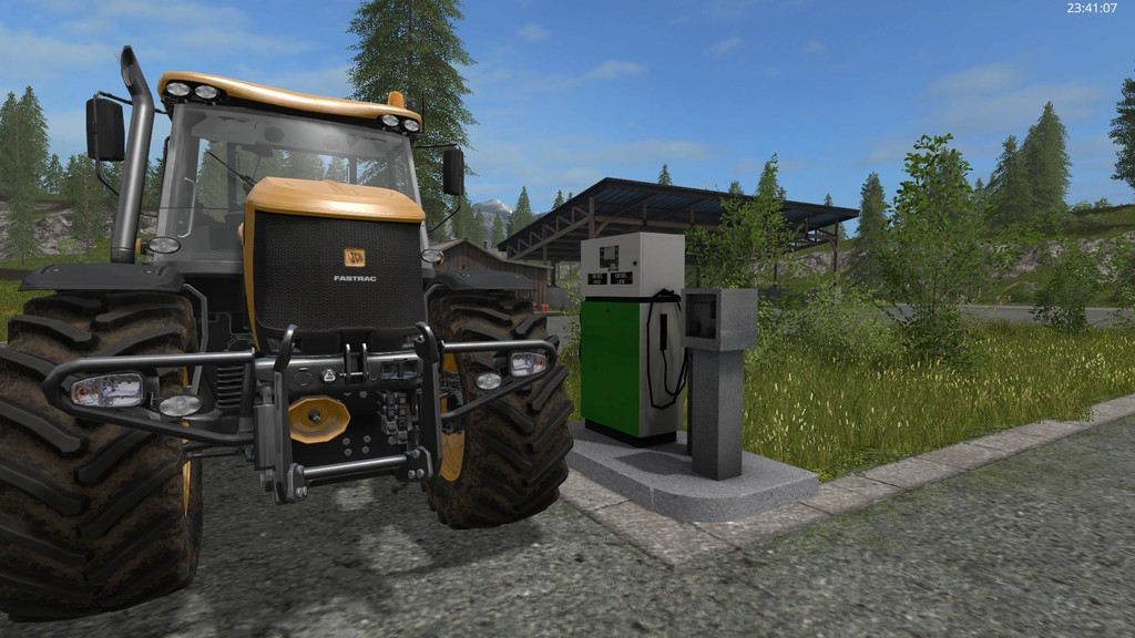 Мод заправка placeable fuelstation Farming Simulator 17
