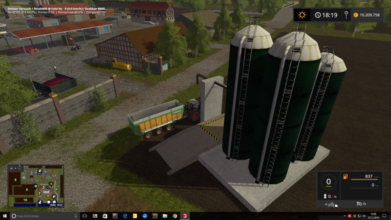 Мод Multi interim storage v 1.2 Placeable Farming Simulator 17