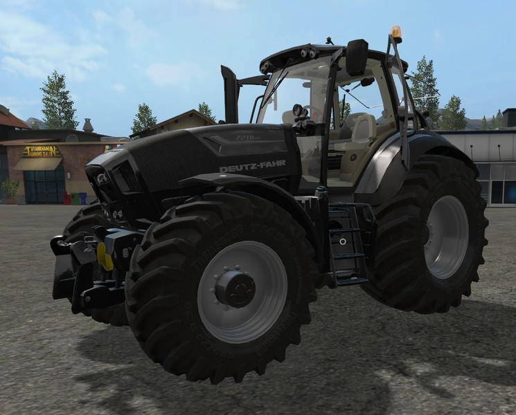 Мод трактор Deutz Fahr Series 7 v 1.1 Farming Simulator 17