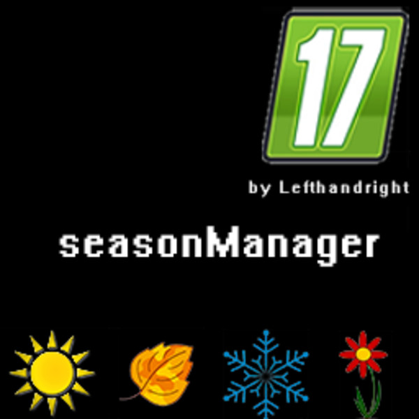 Мод скрипт SeasonManager V 0.2B Farming Simulator 2017