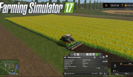 Мод курсплей Courseplay 5.01.00001 Beta Farming Simulator 2017