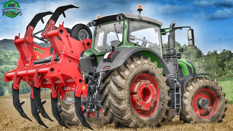 Мод Agrimec3 ASD7 Ripper v 1.0 Plough Farming Simulator 2017