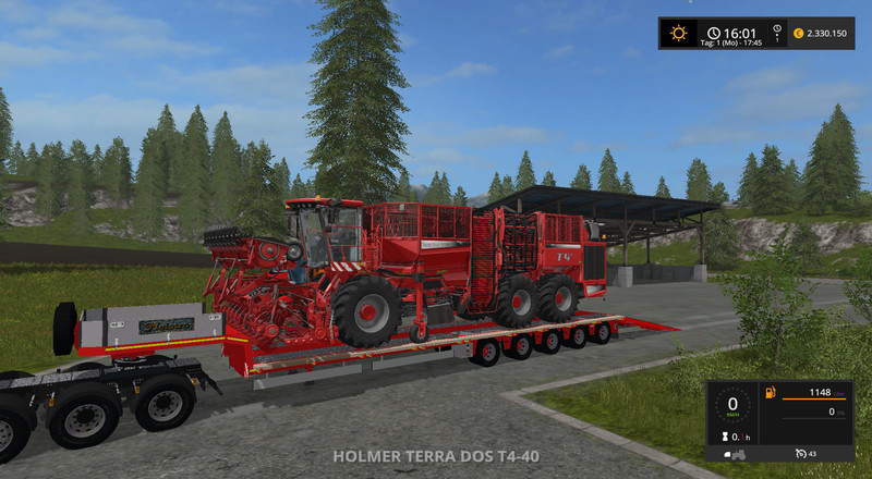 Мод трал Doll Panther loaders v 1.0 Farming Simulator 17