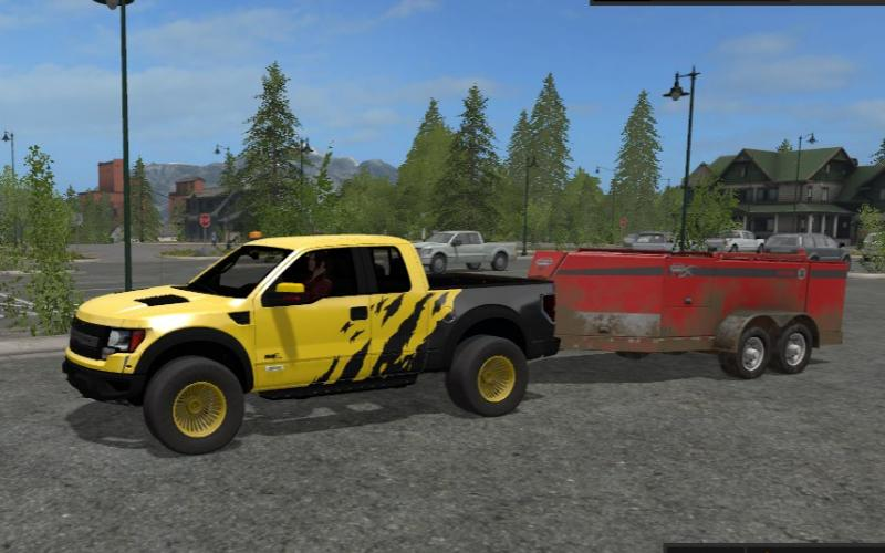 Мод авто Ford F150 Raptor v 1.0 Farming Simulator 2017