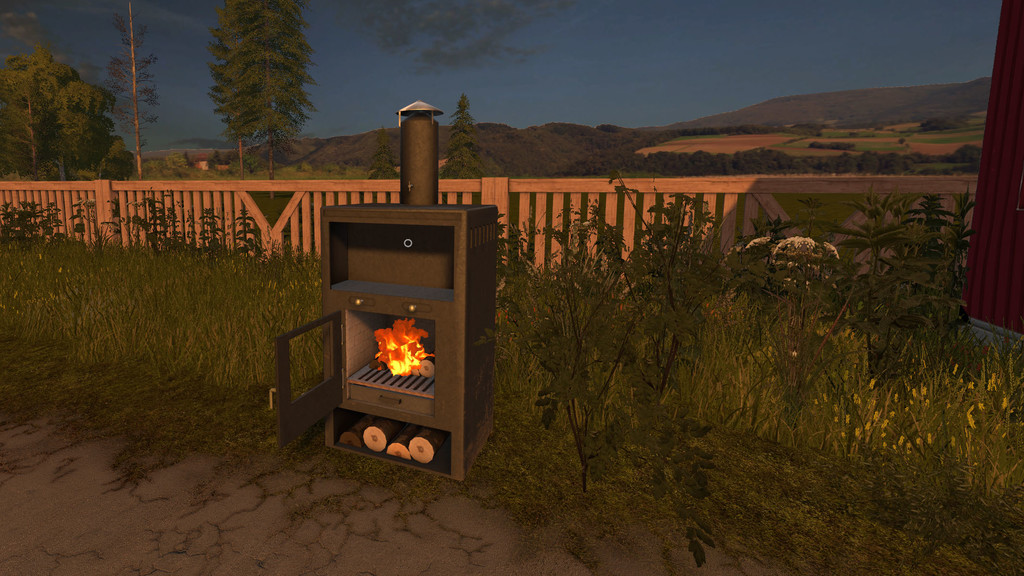 Мод Fireplace v1.0 Farming Simulator 2017