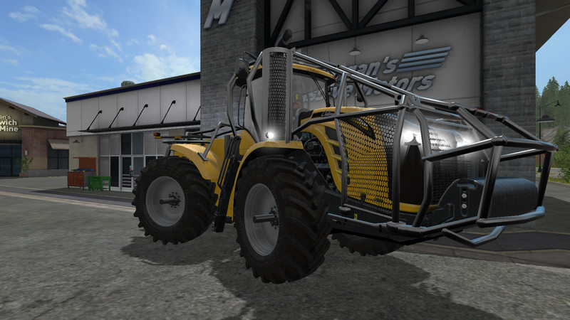 Мод трактор Challenger MT 900e Forest v 1.0 Farming Simulator 17