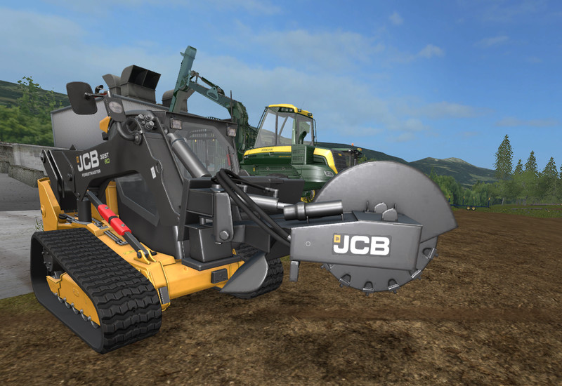 Мод JCB Stump Cutter v 1.0 Farming Simulator 17