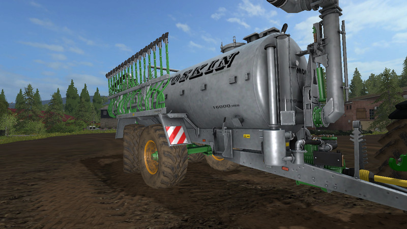 Мод прицеп Joskin Modulo2 with steering axle v 1.0 Farming Simulator 17
