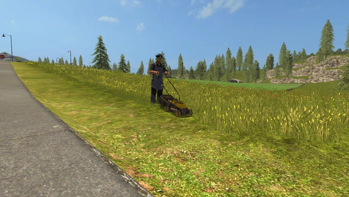Мод газонокосилка Lizard TRX Mower V 1.0 Farming Simulator 2017