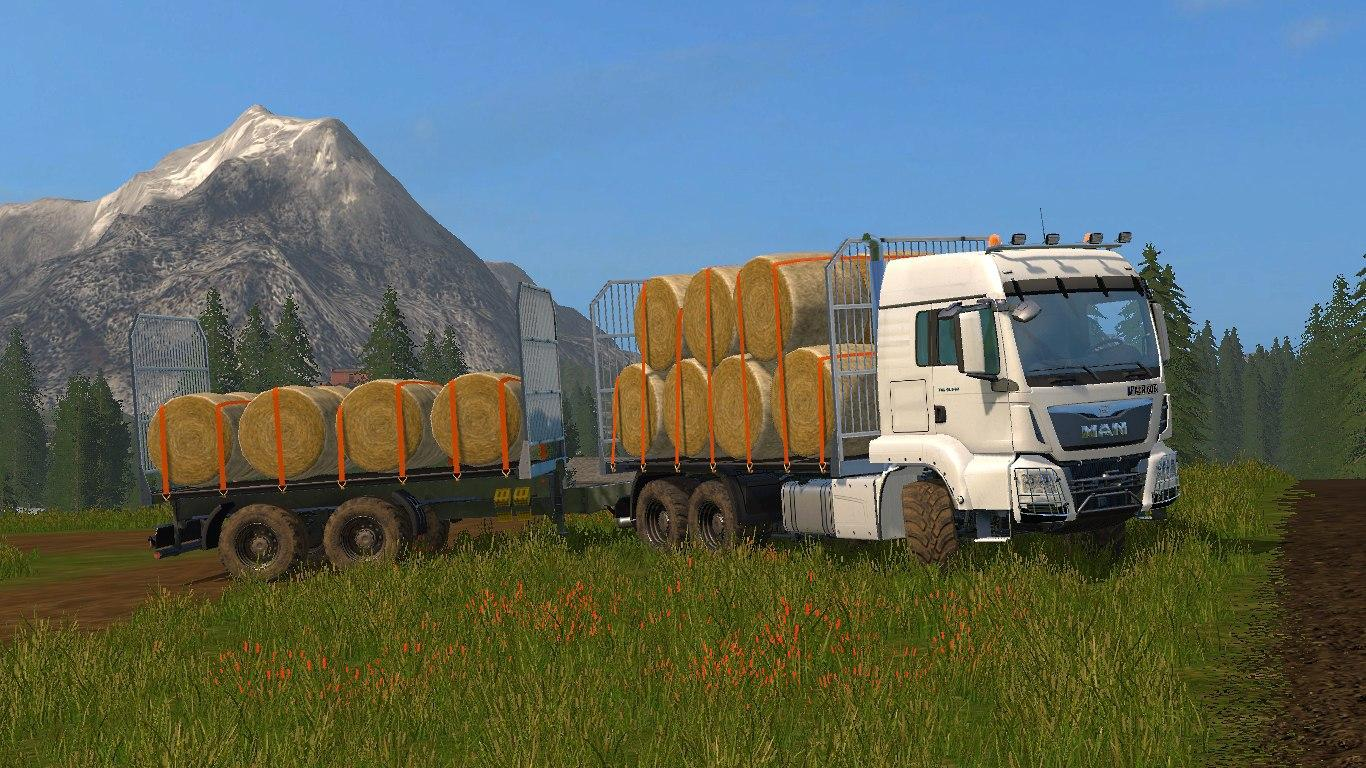 Мод MAN Baletransport v 1.0 Farming Simulator 2017