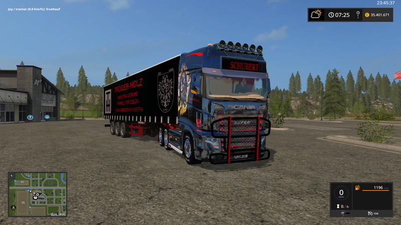 Мод Scania 700 Evo Schubert Edit v 0.8 Farming Simulator 17