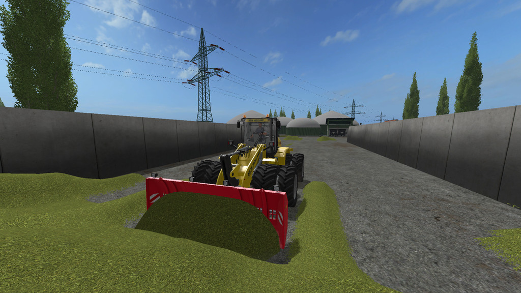 Мод Stegemann Telescope corn sliding shield v1.0 Farming Simulator 2017