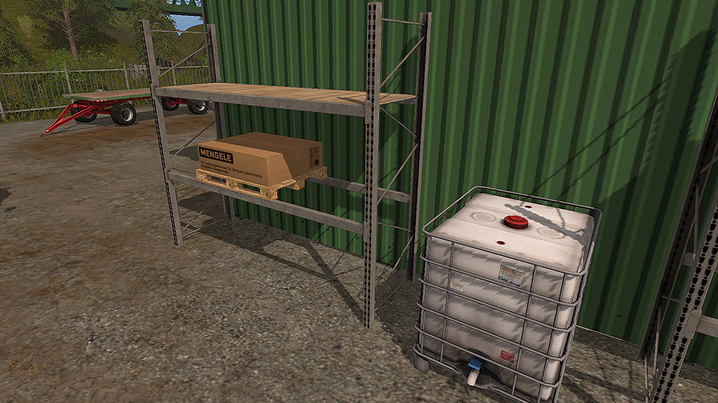Мод стеллажи High Level Rack v1.0 Farming Simulator 2017