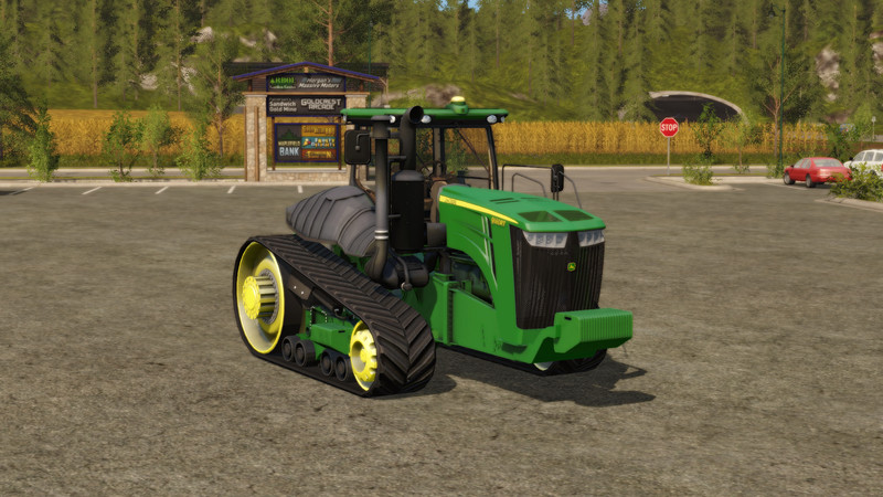 Мод трактор John Deere 9RT v 1.2 Farming Simulator 17