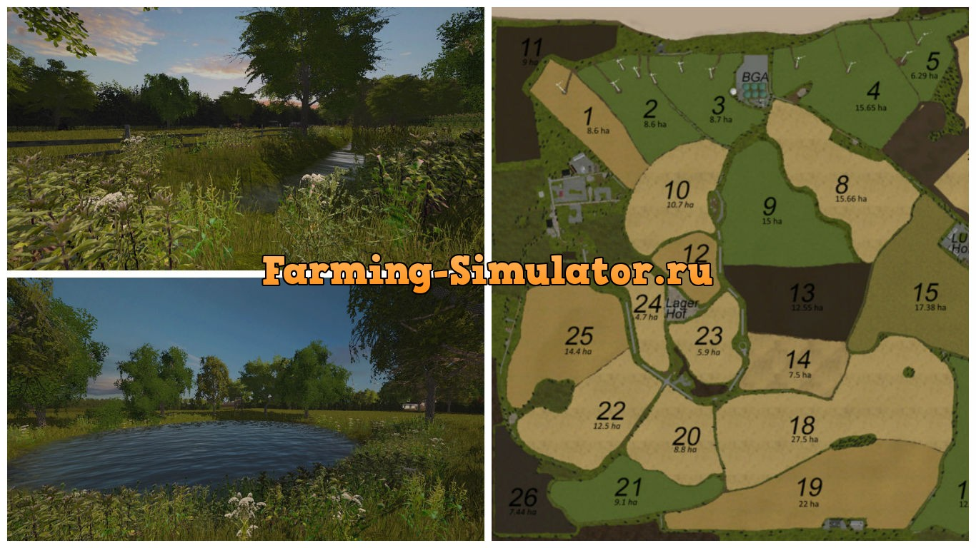 Мод карта On the Baltic Sea V 2.2 FS 17