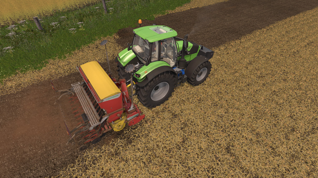 Мод сеялка Pottinger Lion 3002/Vitasem 302 ADD v 1.0.1.7 Farming Simulator 2017
