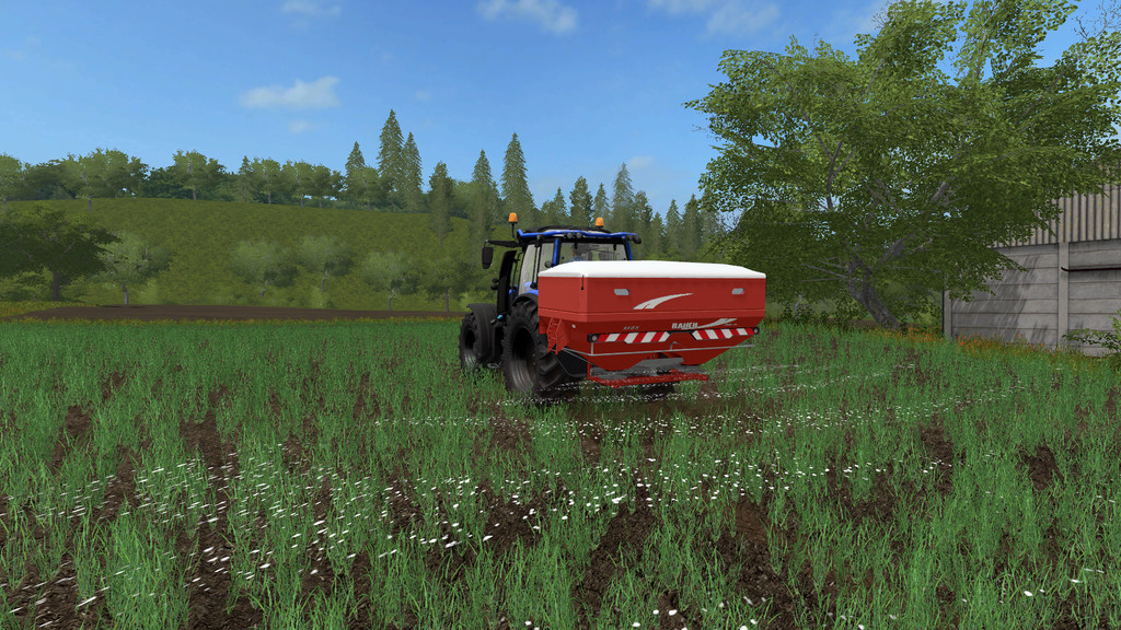 Мод Rauch Axis 50.2 v 1.2 Farming Simulator 2017