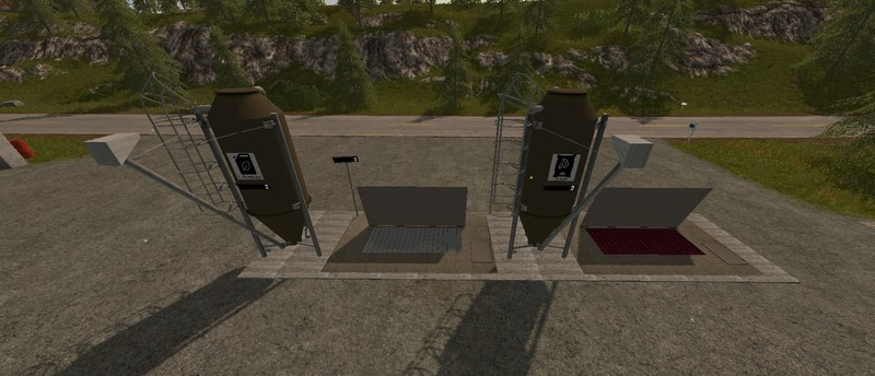 Мод Seed and fertilizer storage Placeable v 3.0 Farming Simulator 2017