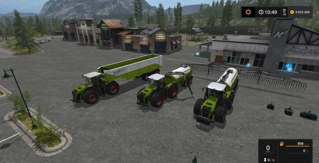 Мод ПАК XERION EDITION GOLD BY QWARES1 V1.1 FS17