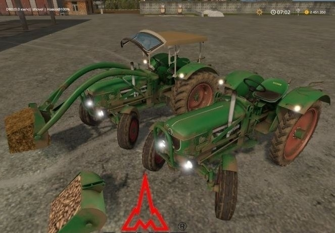 Мод трактора Deutz D80 FL v 1.5 Farming Simulator 17