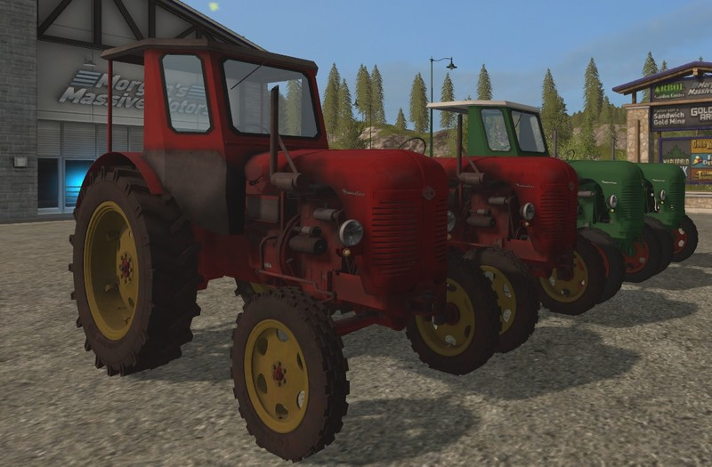 Мод трактора Famulus RS14/36W v 3.0 Farming Simulator 2017