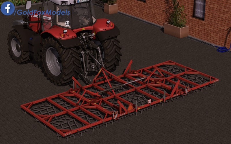 Мод Harrows 14 v 1.0 Farming Simulator 17