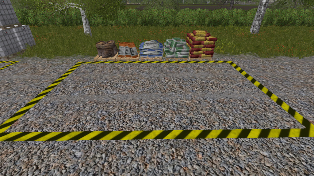 Мод Placeable Refill Point v 1.0 Farming Simulator 17