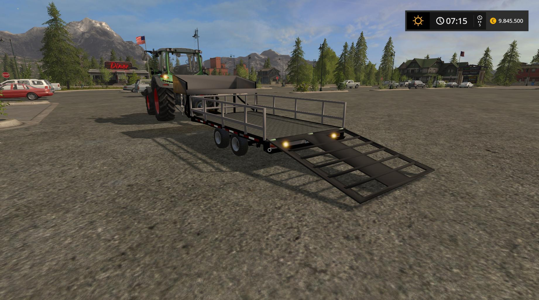 Мод прицеп Small Utility Trailer v 1.0 FS17