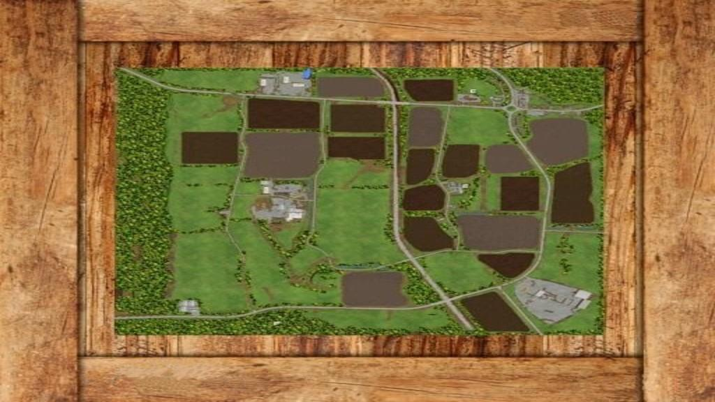 Мод карта Thornton v1.0 Farming Simulator 2017