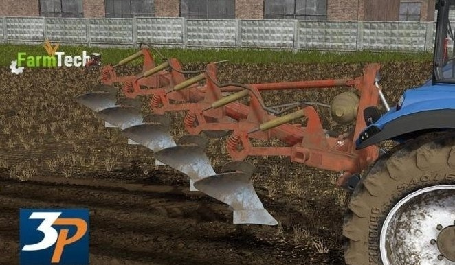 Мод плуг Unia Atlas 5 v 1.0 Farming Simulator 2017