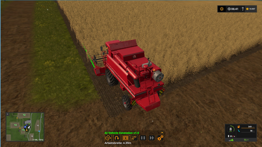 Мод скрипт AI Vehicle Extension FS17