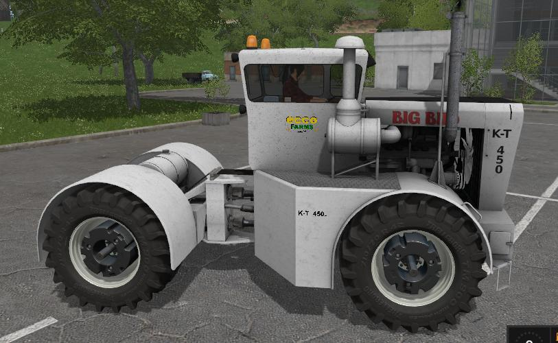 Мод трактор Big Bud TK450 v 1.1 Farming Simulator 17