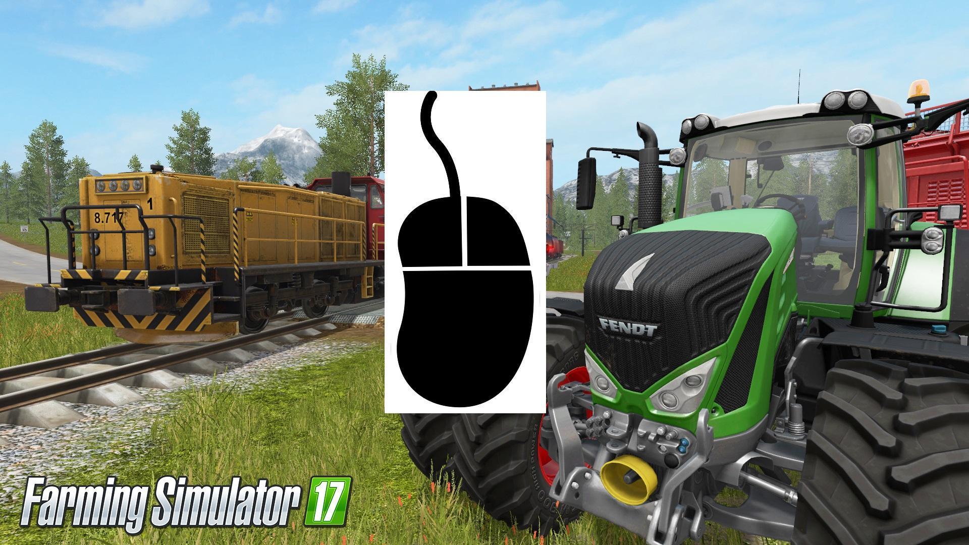 Мод скрипт CONTROL MOUSE V1.0 Farming Simulator 2017