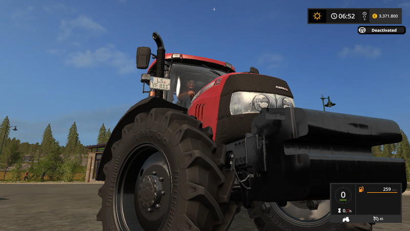 Мод трактора Case IH Maxxum Pack v 1.5.2 Farming Simulator 17