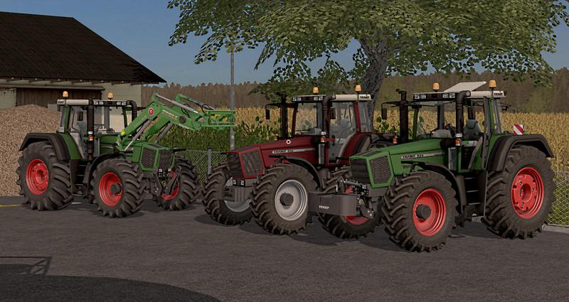 Мод трактора Fendt Favorit 816-824 v 3.0 Final FS17